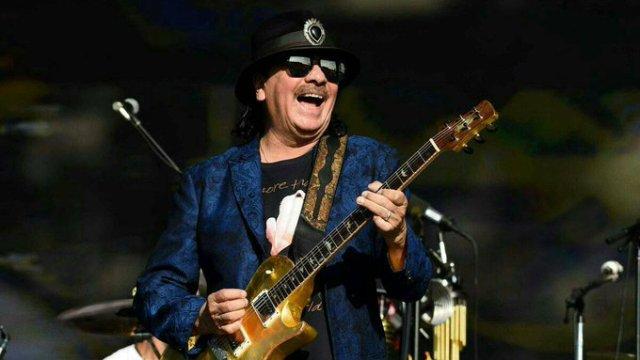 Carlos Santana lanzó su cepa de cannabis