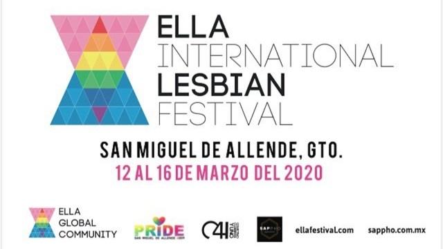 Ella festival: espacios para la comunidad lésbica y bisexual en México (Imagen: Ella International Lesbian Festival México/Facebook)