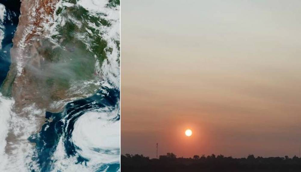 Humo De Incendios De Australia Llega a Varias Regiones Sudamérica