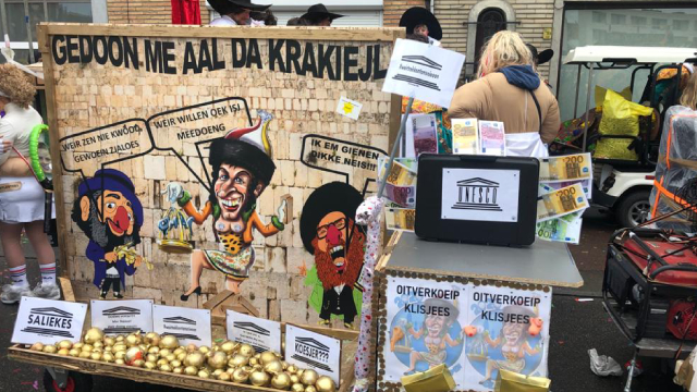 Carnaval Aalst, Bélgica, UNESCO, Antisemita