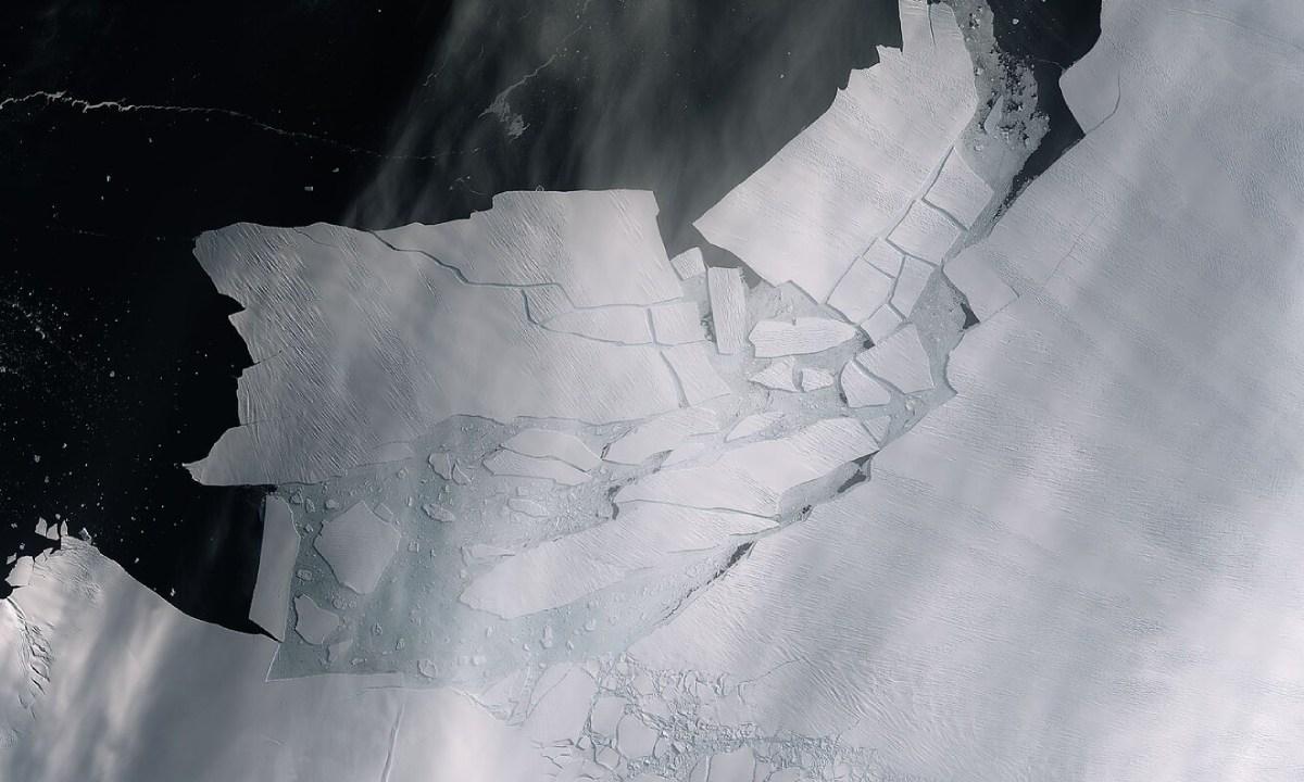Glaciar Antartida