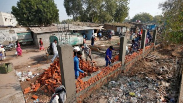 India construirá muro para recibir a Donald Trump