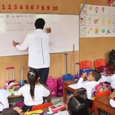 OCDE: resultados de reforma educativa se verán en diez años