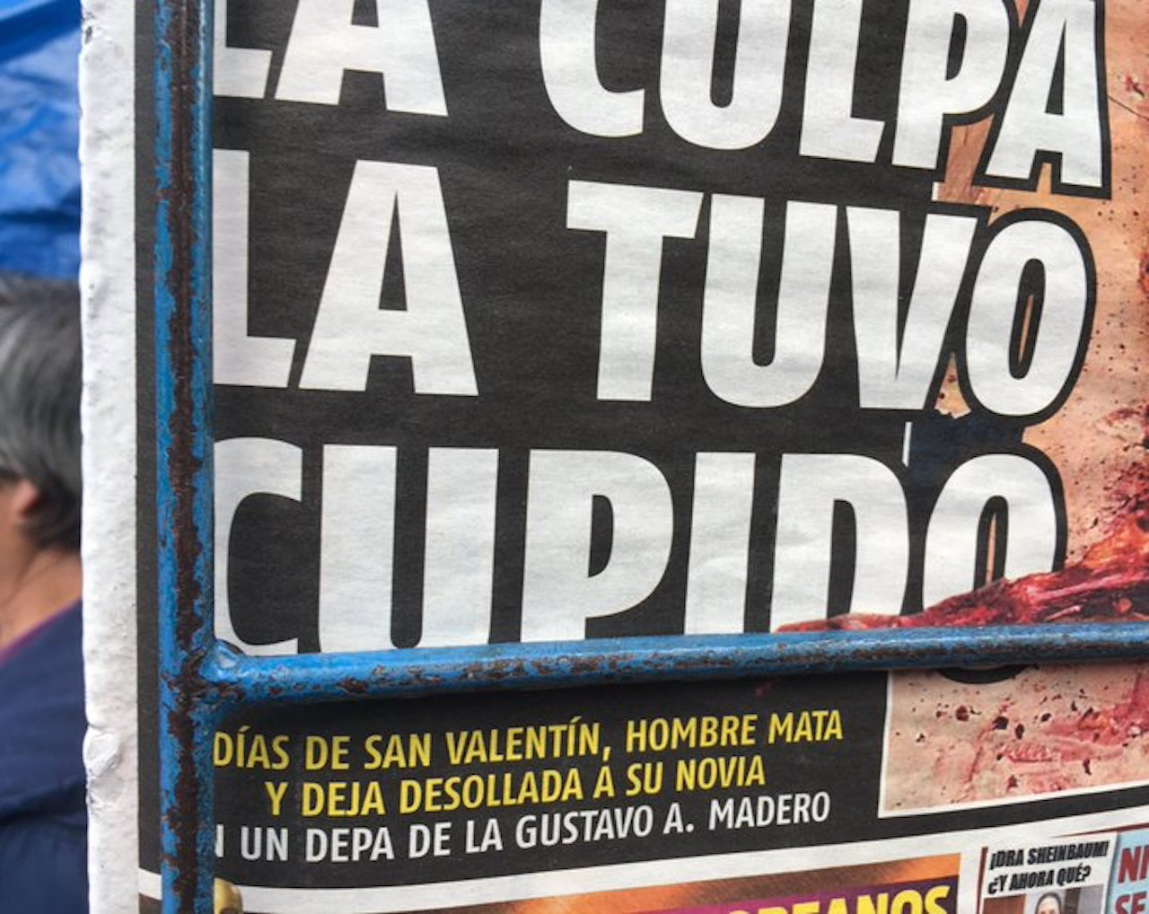 Gobierno de México investigará a medios de comunicación por filtración de imágenes de víctimas de feminicidio (Imagen: Twitter/ @AlfieMar93)