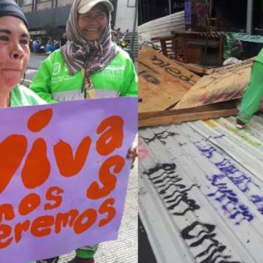 Barrer, Mas Muertas, Trabajadora, CDMX