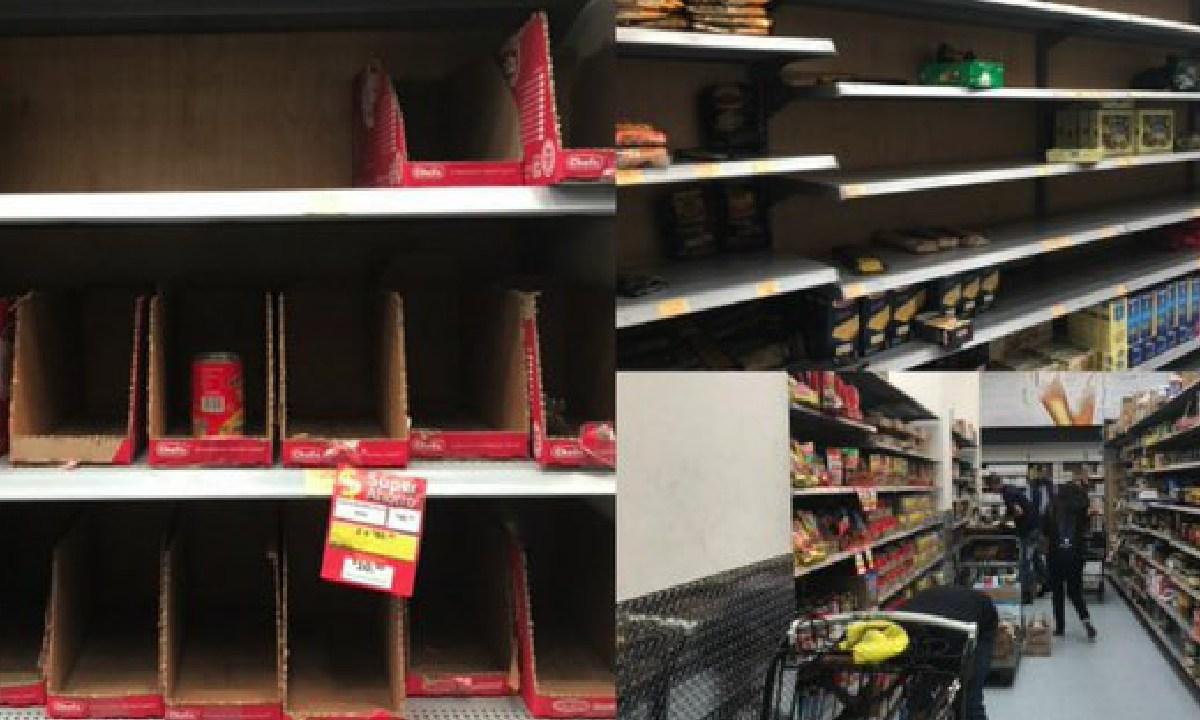 Efecto Panico, Vacia, Supermercados CDMX, Coronavirus