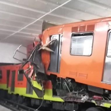 Tras choque, estación Tacubaya de la línea 1 estará fuera de servicio (Imagen: Twitter)