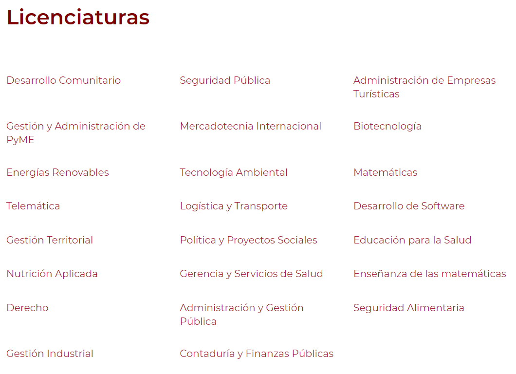 SEP, Universidad Abierta, Universidad Distancia, UnADM