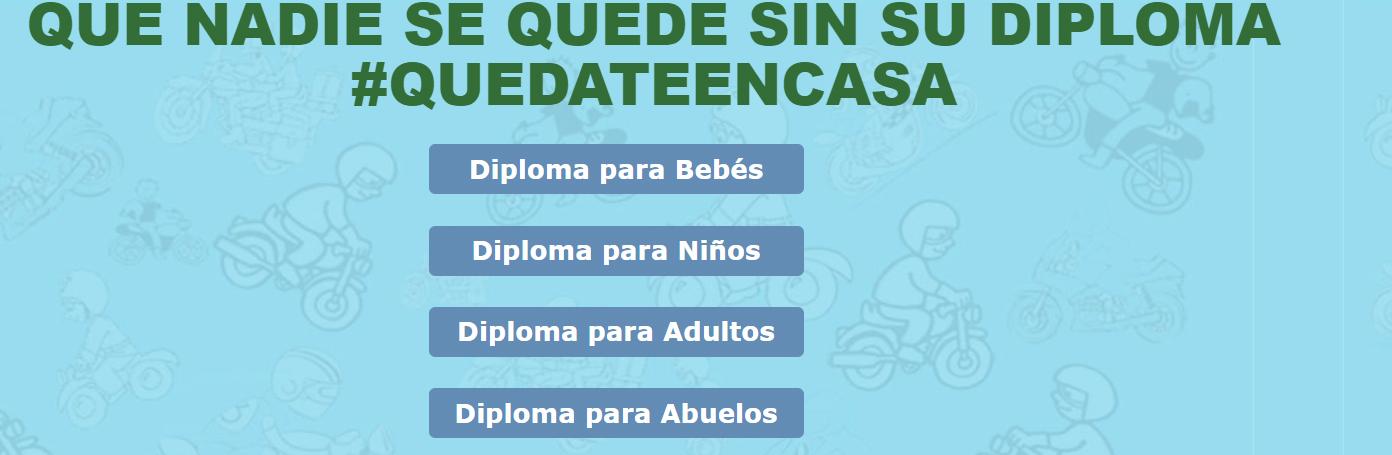 Dia Del Niño, Diploma, Cuarentena, Quedate En Casa