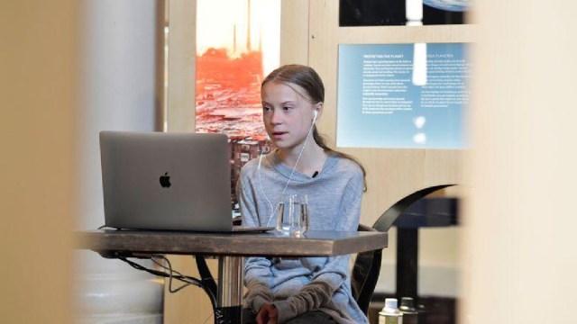 Greta Thunberg, Dia Tierra, Construir, Nuevo Camino