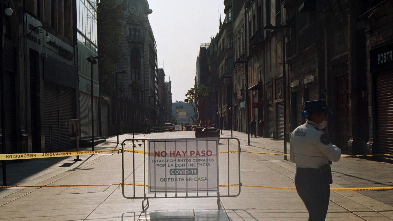 Así se ve el Centro Histórico ante emergencia sanitaria por COVID-19 [Fotogalería]