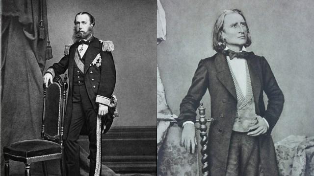 Franz Liszt, Maximiliano Habsburgo, Marcha Fúnebre