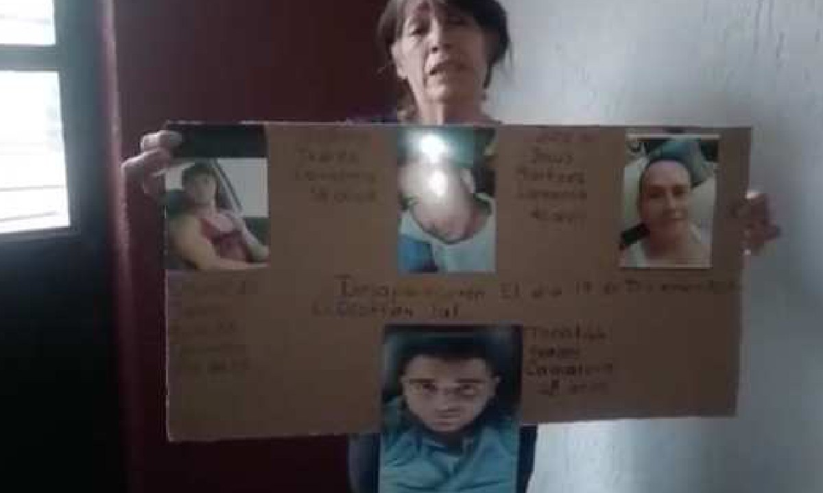 Madre, Hijos, Desaparecidos, Mencho