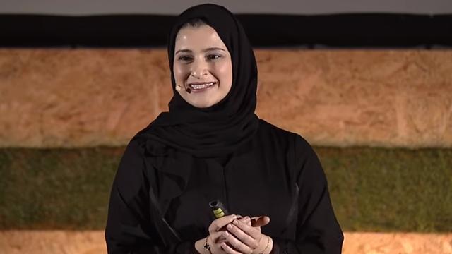 Sarah Al-Amirinunca nunca pensó que conduciría Emiratos Arabes Unidos (EAU) en una misión a Marte, Captura de Pantalla