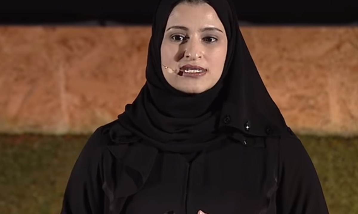 Sarah Al-Amirinunca nunca pensó que conduciría Emiratos Arabes Unidos (EAU) en una misión a Marte, , Captura de Pantalla