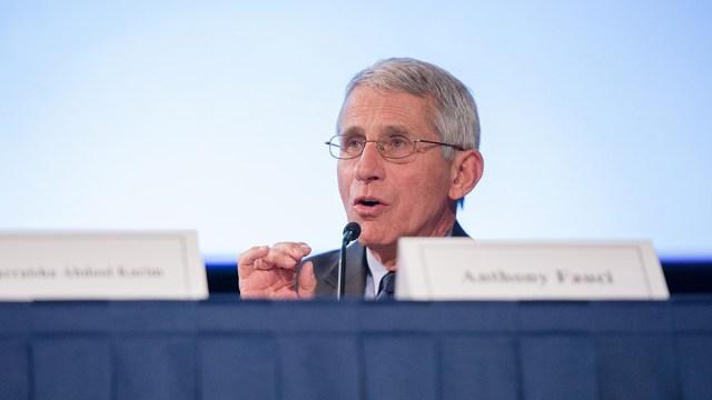 """Anthony Fauci, el principal epidemiólogo de Estados Unidos advierte que apenas """"estamos en la etapa inicial"""" de la pandemia de coronavirus"""