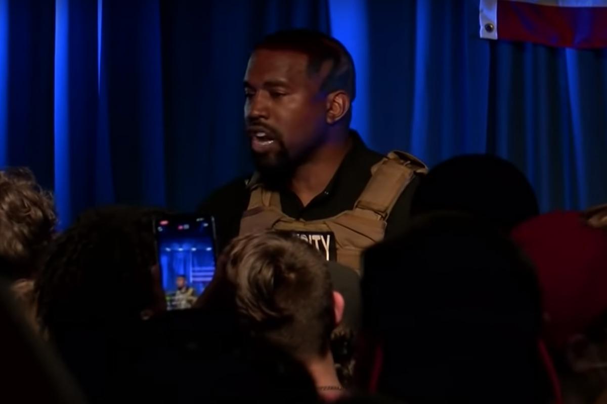 Entre temores por su salud mental, Kanye West lanza campaña para presidente de Estados Unidos con emotiva manifestación, Captura de Pantalla