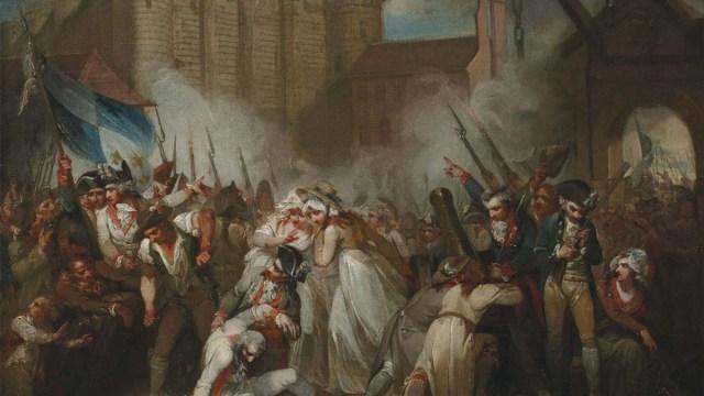 El 14 de julio de 1789 los revolucionarios se levantaron y se dio la toma de la Bastilla, chispa que encendió la Revolución francesa