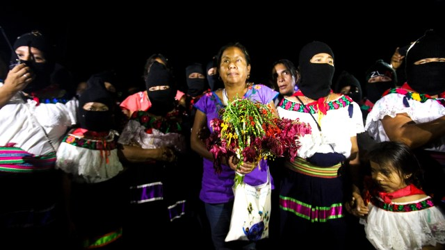 Marichuy, vocera del Congreso Nacional Indígena. (Foto: Daliri Oropeza / Pie de Página)