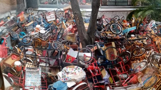 Retiran 140 triciclos de Polanco