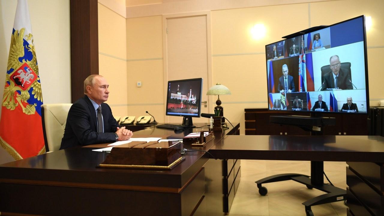 Vladimir Putin presenta la Sputnik V, la vacuna rusa contra el COVID-19