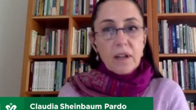 Claudia Sheinbaum dio a conocer la a vacuna Oxford del covid en la CDMX será gratuita, Captura de Pantalla