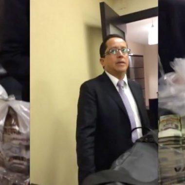 Difunden video de presuntos sobornos a Senadores