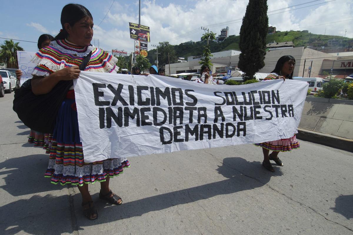 Consejo Indígena Popular de Guerrero Emiliano Zapata. (Foto: José Hernández / Cuartoscuro)