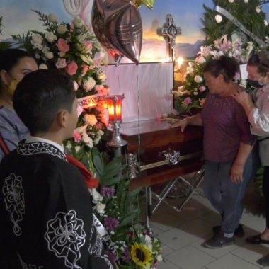Chihuahua: sepultan a Jessica; murió tras presunta agresión de la Guardia Nacional
