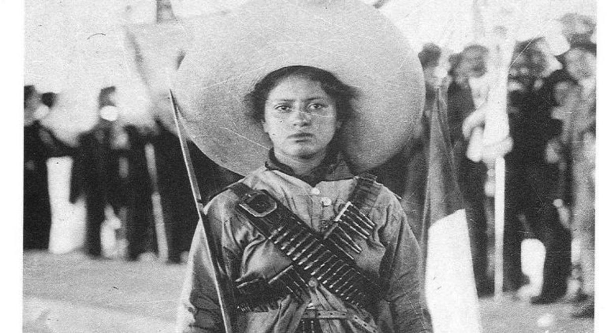 La Adelita revolucionaria cumple 120 años hoy