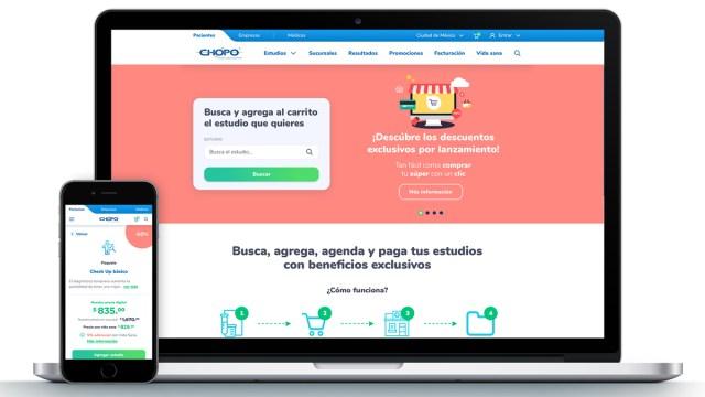 La nueva web de Laboratorio Médico Del Chopo permite pagos online, agendar citas y programar prueba PCR de COVID-19