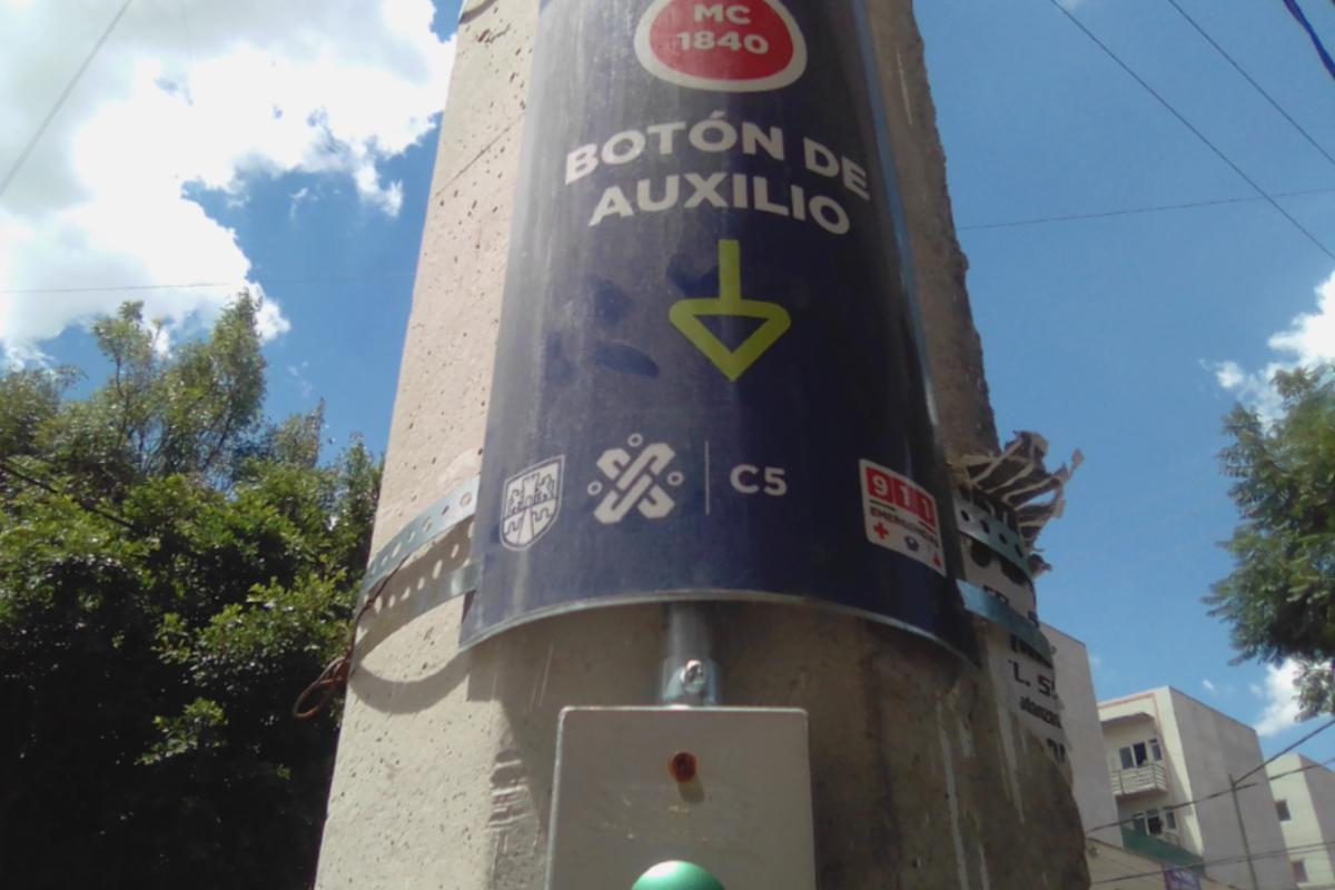 CDMX sustituyen alarmas vecinales con botones de pánico