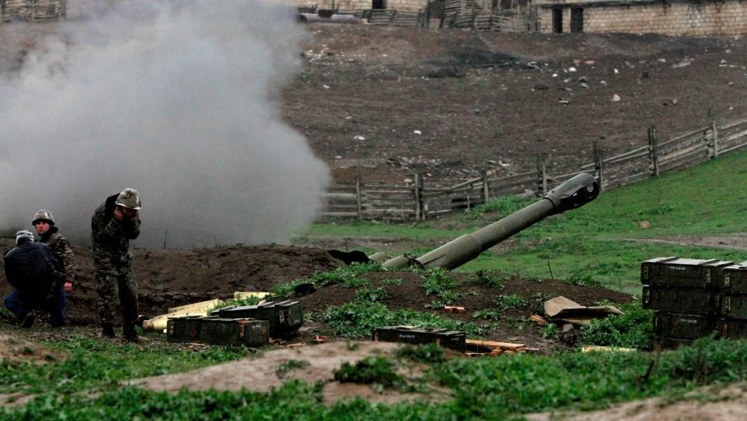 OTAN y Rusia piden alto al fuego entre Armenia y Azerbaiyán