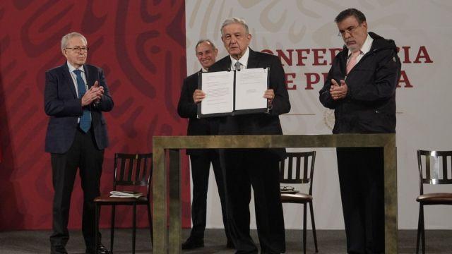 AMLO envía solicitud al Senado para consulta de juicio a expresidentes
