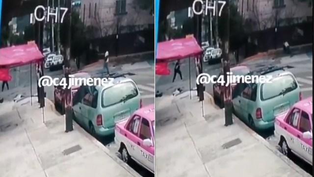policía y expreso enfrentan balazos Álvaro Obregón