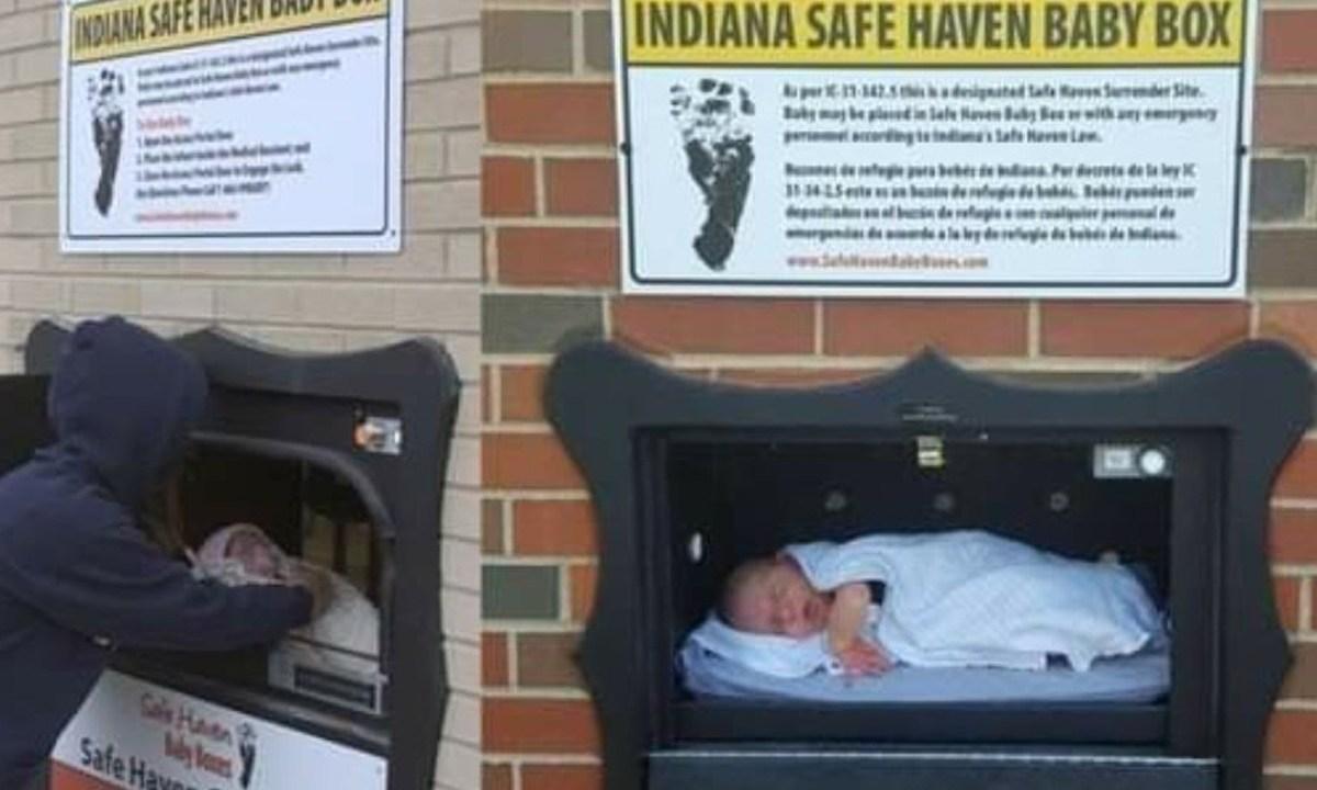 Una ONG de Bélgica, Corvia, gestiona un sistema en el que se usa un buzón para abandonar a los bebés de forma anónima