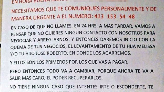 Guanajuato: con volantes, CJNG extorsiona y amenaza con secuestros
