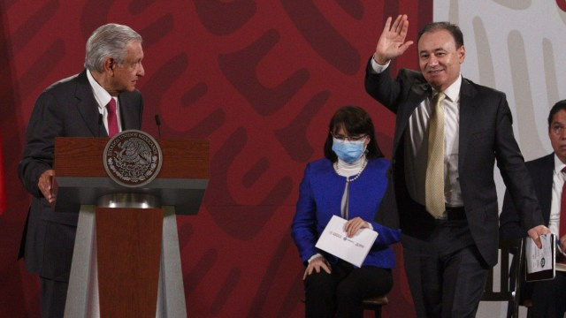 Renuncia Durazo SSC gubernatura Sonora