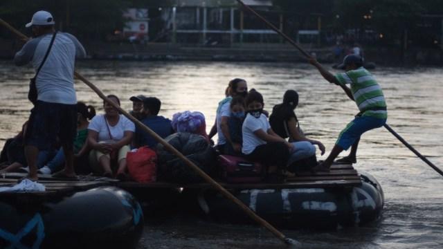 Migración impide paso caravana migrante Chiapas