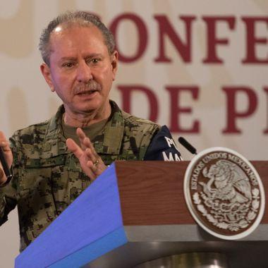 Rafael Ojeda COVID-19 Secretaría de Marina