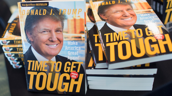 Time to get tough, Make America great again, el libro de Trump