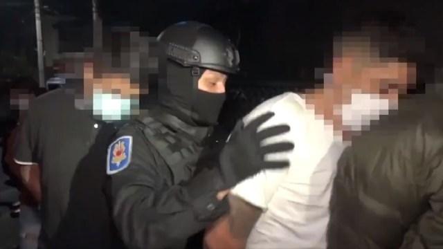 detienen 14 sujetos armas droga camionetas de lujo Xochimilco CDMX