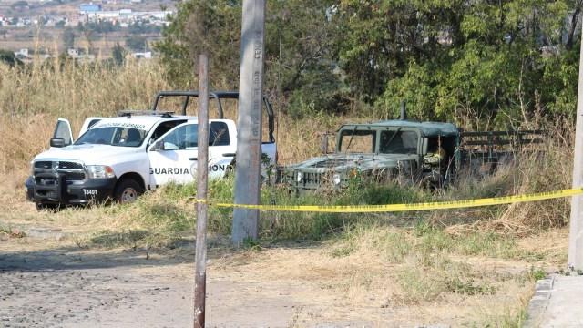 La Fiscalía de Justicia del Estado de Guanajuato informó que localizaron más fosas clandestinas en el municipio de Cortázar