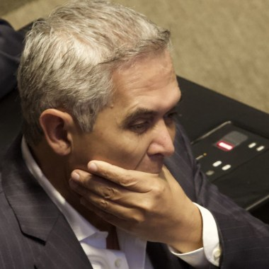 La Secretaría de la Contraloría General de la CDMX informó que Manuel Mancera ha sido inhabilitado un año de ejercer cargos públicos