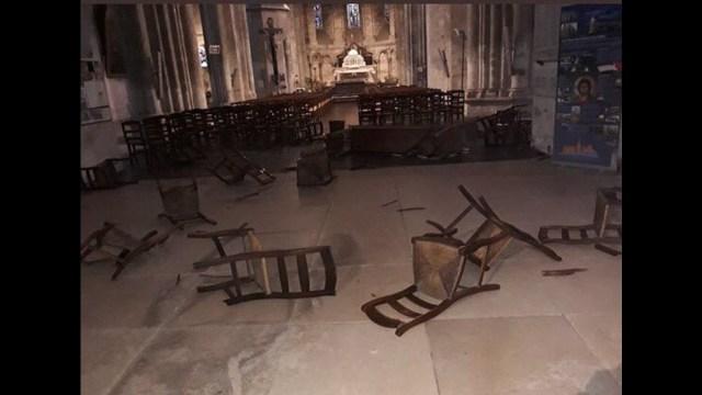 "El alcalde de Niza, Christian Estros describió el incidente como un ""ataque terrorista"" e ""islamofascismo"""