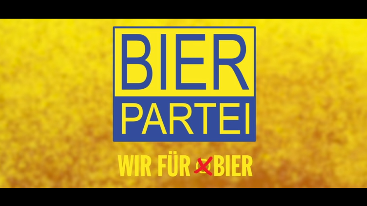 El Partido de la Cerveza participará en las elecciones de Austria. Propone convertir una fuente de Viena en dispensador gratuito de cerveza, Captura de Pantalla
