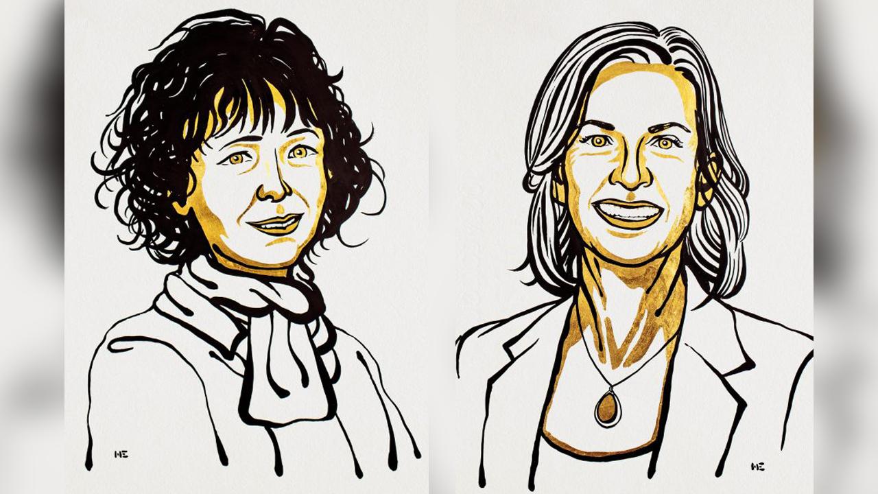 Emmanuelle Charpentier y Jennifer A. Doudna obtuvieron el Nobel de Química 2020 por el desarrollo de un método para la edición del genoma