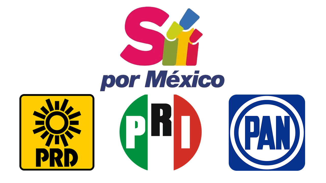 En redes sociales, los líderes del PRI, PAN, PRD, anunciaron en redes sociales que se suman al movimiento de Sí por México