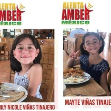 Activan alerta amber localizar Mayté Y Emily Nicole Viñas