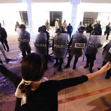Cancún protesta feminista